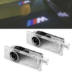2pcs Car Door Welcome Lights Courtesy Led Projector Ghost Shadow Light For Bmw M
