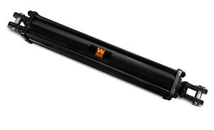 Wen Tr4012 2500 Psi Tie Rod Hydraulic Cylinder With 4 In Bore And 12 In Stroke