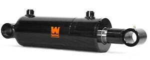 Wen Wt4012 Cross Tube Hydraulic Cylinder With 4 inch Bore And 12 inch Stroke