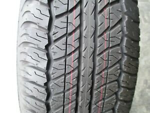 2 New P 265 70r17 Dunlop At20 Tires 2657017 265 70 17 R17 70r Factory Take Offs