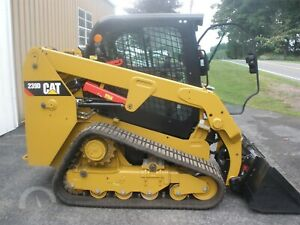Caterpillar 239d Track Loader Only 55 Hours