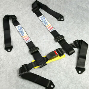 Universal 4 point Jdm Car Auto Racing Sport Seat Belt Safety Harness Strap