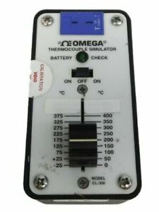Omega Thermocouple Simulator Model Cl 300 500c