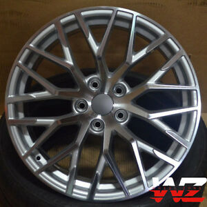 20 R8 Style Machined Gunmetal Wheels Fits Audi A4 A6 A7 A8 S4