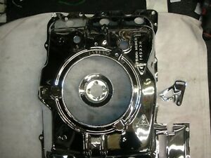 Corvair 140 Hp 4 Carb Freshly Chromed Show Quality Engine Top Fan Cover Pulley