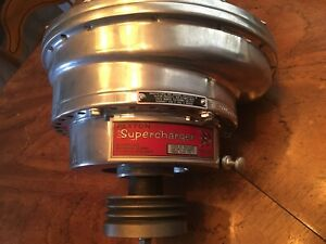 Mccullloch Paxton Supercharger Sn60 Small Block Ford studebaker Antique Vintage