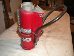 Ansul A b c Dry Chemical Fire Extinguisher With Mounting Bracket
