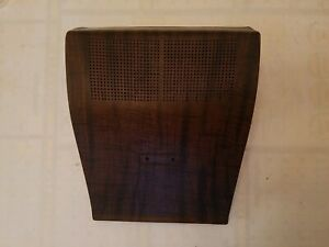 1968 1969 Amc Amx Javelin Center Dash Speaker Grille Overlay Woodgrain