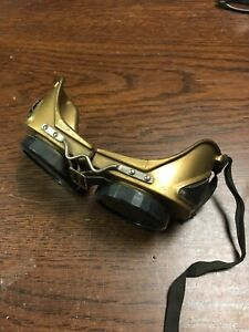 Steam Punk Halloween Welding Goggles Vintage Made In The Usa Barn Find V