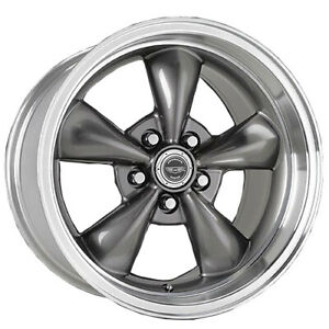 1 New 17x7 5 American Racing Torq Thrust M Gloss Black Wheel rim 5x100 17 7 5
