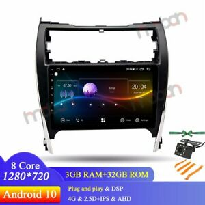 10 1 Ips Android 9 1 Car Stereo Gps Navigation For Toyota Camry 2012 14 Radio