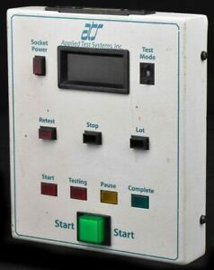 Ats Applied Test System 55 1019 Rev 7 Domain Operator Pendant Panel