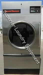 Speed Queen St075 Single Pocket Dryer ss Front 75lb Reconditioned