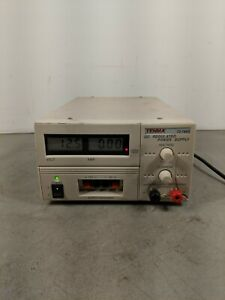 Tenma 72 7660 Dc Regulated Power Supply 120vac Out 0 30vdc 10a