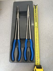 Blue Point Tools Bluepoint X Long Plier Set Bdgpl200xlr As Sold By Snap On