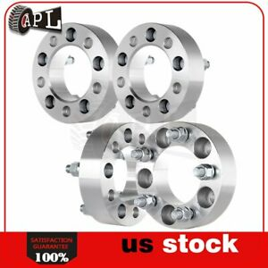 4pcs 1 5 Thick 5x4 5 Wheel Spacers For Ranger Mustang Explorer Ford Lincoln