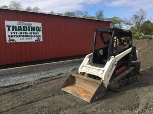 2014 Terex R070t Compact Track Skid Steer Loader Only 1100 Hours