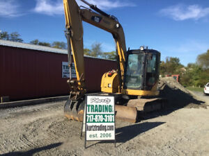 2009 Caterpillar 308ccr Hydraulic Midi Excavator W Cab Only 2900 Hours