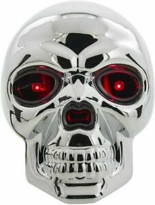 Bully Skull Led Brake Light Tow Hitch Cover Fits 1 25 And 2 Inches