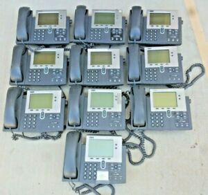 Cisco 7940 Series Unified Voip Ip Business Office Phone