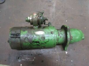 1948 John Deere Styled D Original Working Starter Delco Remy Antique Tractor