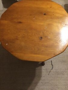 Vintage Maple Table Cushman 5 150