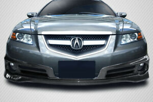 07 08 Acura Tl Type S Carbon Fiber Creations Front Bumper Lip Body Kit 115427