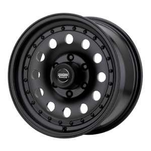 4 16 Inch American Racing Ar62 16x7 8 Lug Black Rims Wheels 8x6 5 Ar626782b