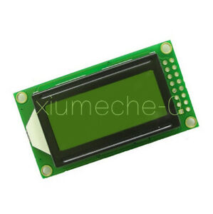 0802 8x2 Yellow Character Lcd Display Module 5v Lcm For Arduino Raspberry Pi