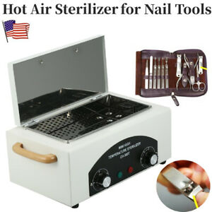 Dental Lab Autoclave High Temperature Sterilizer Hot Dry Nail Tool Sterilizer Us