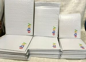 Ebay Shipping Supplies Padded Bubble Mailers Envelopes Starter Kit Large Lot 45