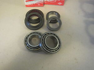 Fits 07 18 Jeep Jk Wrangler Dana 44 Rear Axle Bearing W Seal Lock Ring Cr
