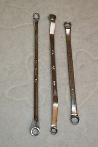 Lot Of 3 Double Box End Wrench Snap On Mac Sk 5 16 3 8 7 16 8mm 9mm