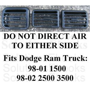 Dodge Ram Air Outlet Vents Air Conditioning Instrument Bezel Ac Dash Dashboard A