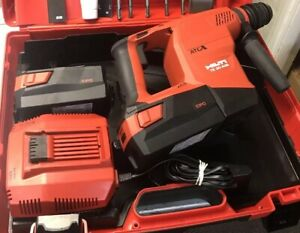 Hilti Hammerdrill Te 30 a36 Sds Plus 2 Batteries Side Arm Manuals