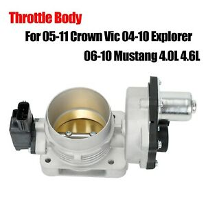 For 2005 2011 Crown Vic 2004 10 Explorer 2006 10 Mustang 4 0l 4 6l Throttle Body
