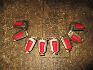 Parker Hydraulic Hose Crimp Die 80c p0580 Red 1 4 Hy Series Fittings