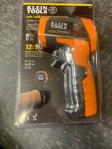 Klein Tools Dual Laser Infrared Thermometer 12 1 Distance To Spot Ratio Ir5