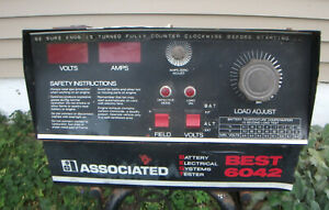 Associated Best 6042 Automotive Battery Electrical Testing System Shop Equipment