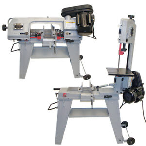 4 1 2 Metal Cutting Band Saw 4x6 Horizontal Vertical Band Saw