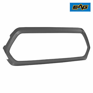 Eag Fits 16 20 Toyota Tacoma Black Abs Plastic Grill Shell Outer Surround