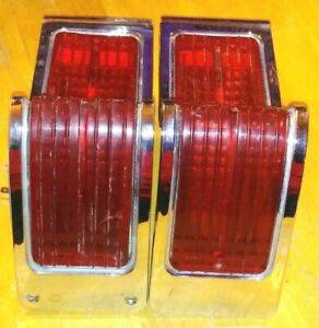 1965 Amc Rambler Classic Sedan Station Wagon Rear Tail Lights W lens Rh