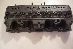 1949 1950 Oldsmobile 303 V8 Matched Cylinder Heads 555644 New Guides edited