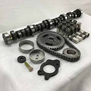 Sbf 289 302 Stage 4 Camshaft Lifters Timing Kit For Ford W 512 512 Lift Mc2292