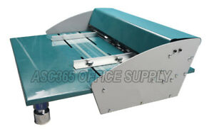 New 18in 460mm Electric Creaser scorer perforator Machine With Workbench 110v