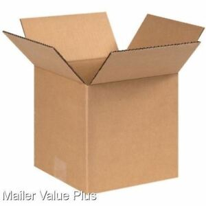 100 5 X 5 X 5 Corrugated Shipping Boxes Packing Storage Cartons Cardboard Box