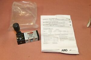 Aro M212lmj0s7 J1037 Max Air Pneumatic Valve Switch New