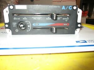 1991 Ranger Ac A c Heater Climate Temperature Control Unit Defroster