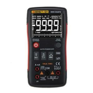 Aneng Q1 True rms Digital Multimeter Button 9999 Counts With Analog Bar Graph Lg