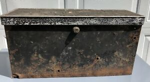 Antique Vintage Classic Car Automobile Running Board Tool Box 1920 s 1930 s